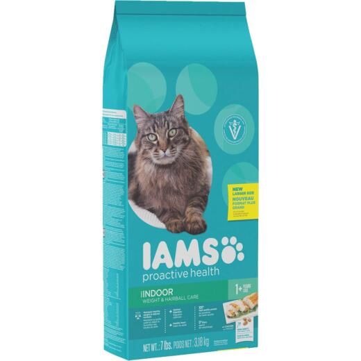 Iams Weight and Hairball Care 7 Lb. Adult Cat Food
